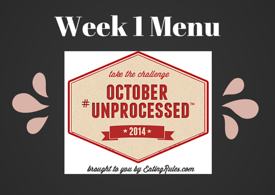 October unprocessed 2014 week 1 menu
