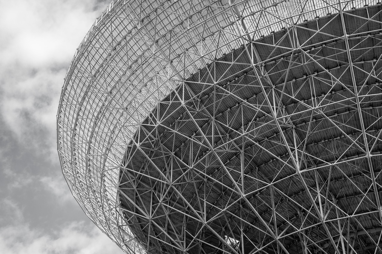 radio telescope structure
